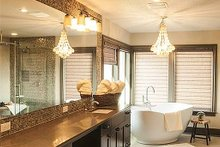 Home Plan - Master bathroom - 4000 square foot Craftsman home