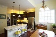 European Style House Plan - 4 Beds 2 Baths 2410 Sq/Ft Plan #137-153 Interior - Kitchen