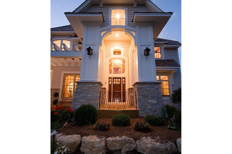 Traditional Exterior - Other Elevation Plan #56-599 - Houseplans.com