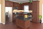 Craftsman Style House Plan - 3 Beds 2 Baths 1604 Sq/Ft Plan #21-344 Interior - Kitchen