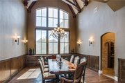 European Style House Plan - 6 Beds 6.5 Baths 7236 Sq/Ft Plan #119-169 Interior - Dining Room