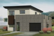 Contemporary Style House Plan - 3 Beds 2 Baths 1394 Sq/Ft Plan #906-8