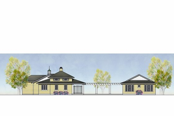 Traditional Exterior - Front Elevation Plan #575-4