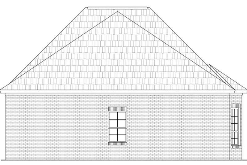 Southern Exterior - Rear Elevation Plan #21-229 - Houseplans.com