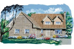 Traditional Exterior - Front Elevation Plan #47-633