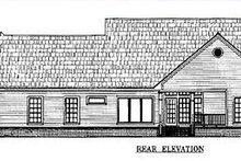 Farmhouse Exterior - Other Elevation Plan #21-109
