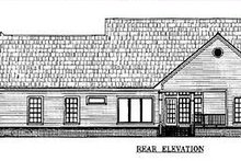 Farmhouse Exterior - Other Elevation Plan #21-109