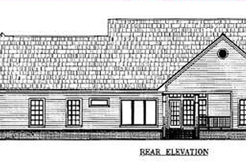 Farmhouse Exterior - Other Elevation Plan #21-109 - Houseplans.com