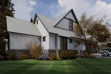 Contemporary Exterior - Other Elevation Plan #120-268