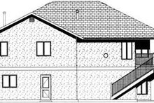 Exterior - Rear Elevation Plan #126-122