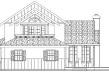 House Design - Tudor Exterior - Other Elevation Plan #124-341