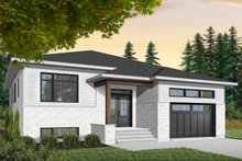 House Design - Modern Exterior - Front Elevation Plan #23-2698