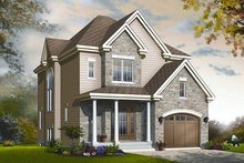 Traditional Exterior - Front Elevation Plan #23-834