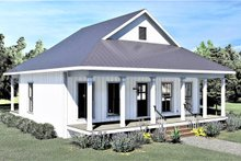 House Plan Design - Traditional Exterior - Front Elevation Plan #44-223