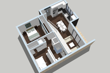 Home Plan - 3 D Floorplan