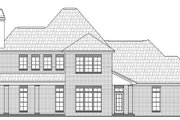 European Style House Plan - 3 Beds 2.5 Baths 2706 Sq/Ft Plan #21-259 Exterior - Rear Elevation