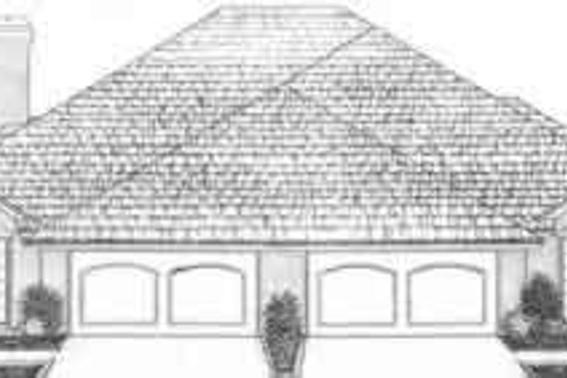Traditional Exterior - Front Elevation Plan #310-466 - Houseplans.com