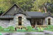 Craftsman Style House Plan - 3 Beds 2.5 Baths 2234 Sq/Ft Plan #120-180 Photo