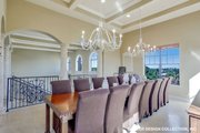 European Style House Plan - 4 Beds 4.5 Baths 5045 Sq/Ft Plan #930-505 Interior - Dining Room