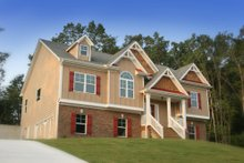 Home Plan - Traditional Exterior - Front Elevation Plan #419-113