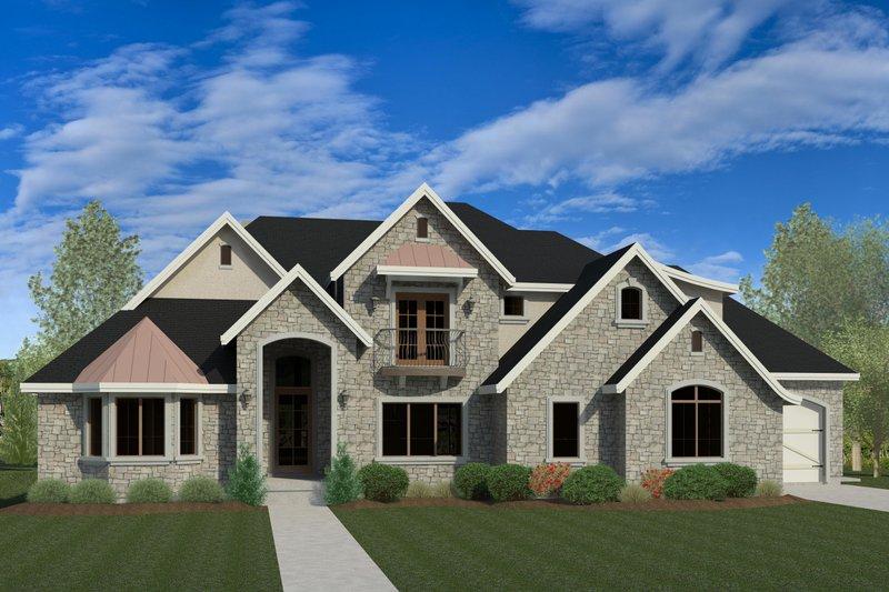 Dream House Plan - European Exterior - Front Elevation Plan #920-30
