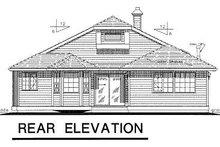 Ranch Exterior - Rear Elevation Plan #18-142