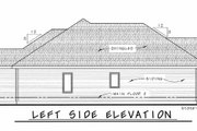 Ranch Style House Plan - 3 Beds 2 Baths 1642 Sq/Ft Plan #20-1869 Exterior - Other Elevation