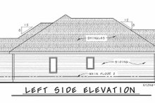Architectural House Design - Ranch Exterior - Other Elevation Plan #20-1869
