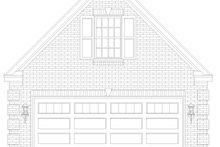 Country Exterior - Front Elevation Plan #932-283