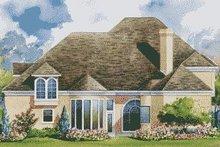 Home Plan Design - European Exterior - Rear Elevation Plan #20-1165