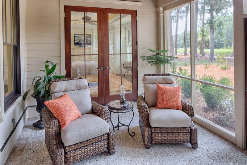 Country Exterior - Outdoor Living Plan #928-13 - Houseplans.com