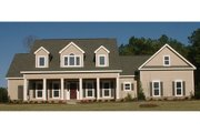 Country Style House Plan - 4 Beds 3 Baths 2649 Sq/Ft Plan #63-208 Exterior - Front Elevation