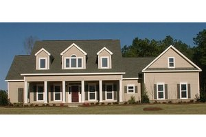 Country Exterior - Front Elevation Plan #63-208