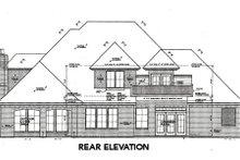 House Design - European Exterior - Rear Elevation Plan #310-644