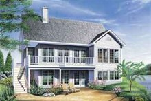 Dream House Plan - Traditional Exterior - Front Elevation Plan #23-494