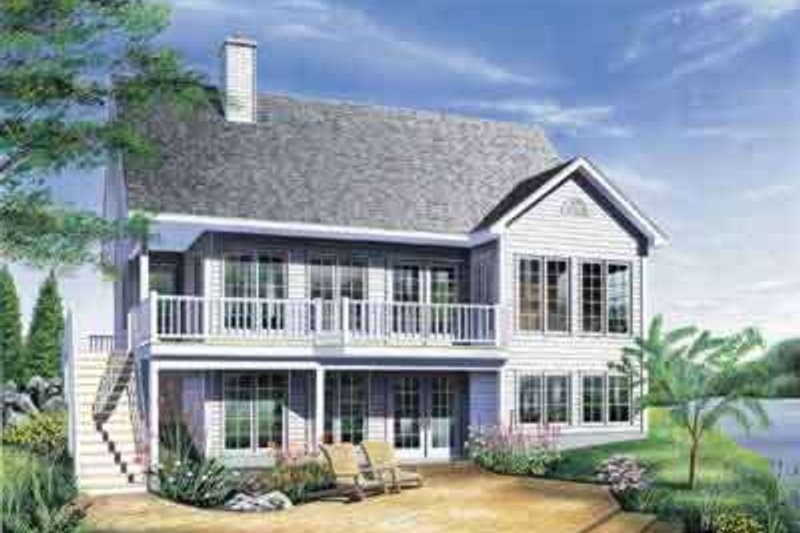 Traditional Exterior - Front Elevation Plan #23-494