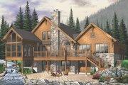 Craftsman Style House Plan - 5 Beds 3.5 Baths 3506 Sq/Ft Plan #23-419