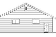 Traditional Exterior - Other Elevation Plan #124-791