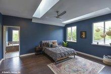 House Plan Design - Contemporary Interior - Master Bedroom Plan #929-85