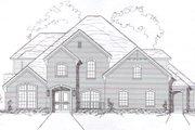 European Style House Plan - 4 Beds 3 Baths 3038 Sq/Ft Plan #141-278