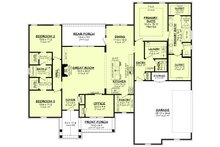 Farmhouse Floor Plan - Main Floor Plan Plan #430-234