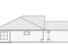 Craftsman Exterior - Other Elevation Plan #938-95