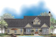 Country Style House Plan - 3 Beds 2.5 Baths 1891 Sq/Ft Plan #929-509 Exterior - Rear Elevation
