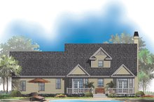 Dream House Plan - Country Exterior - Rear Elevation Plan #929-509