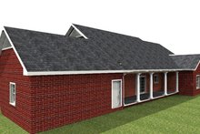 House Plan Design - Ranch Exterior - Rear Elevation Plan #44-169
