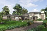 Modern Style House Plan - 4 Beds 4.5 Baths 4750 Sq/Ft Plan #132-221 Exterior - Other Elevation