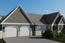 House Plan Design - Cottage Exterior - Front Elevation Plan #1060-64