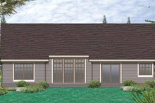 Architectural House Design - Traditional Exterior - Rear Elevation Plan #48-122
