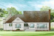 Southern Style House Plan - 5 Beds 3.5 Baths 2806 Sq/Ft Plan #137-276 Exterior - Rear Elevation