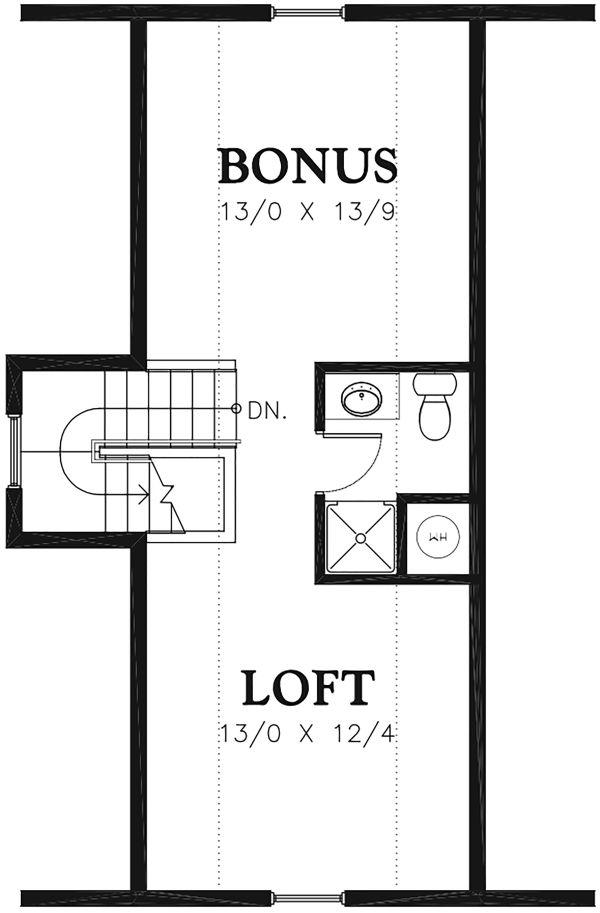 Traditional Floor Plan - Other Floor Plan Plan #48-965